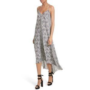 Alice + Olivia Rowley High Low Maxi Dress